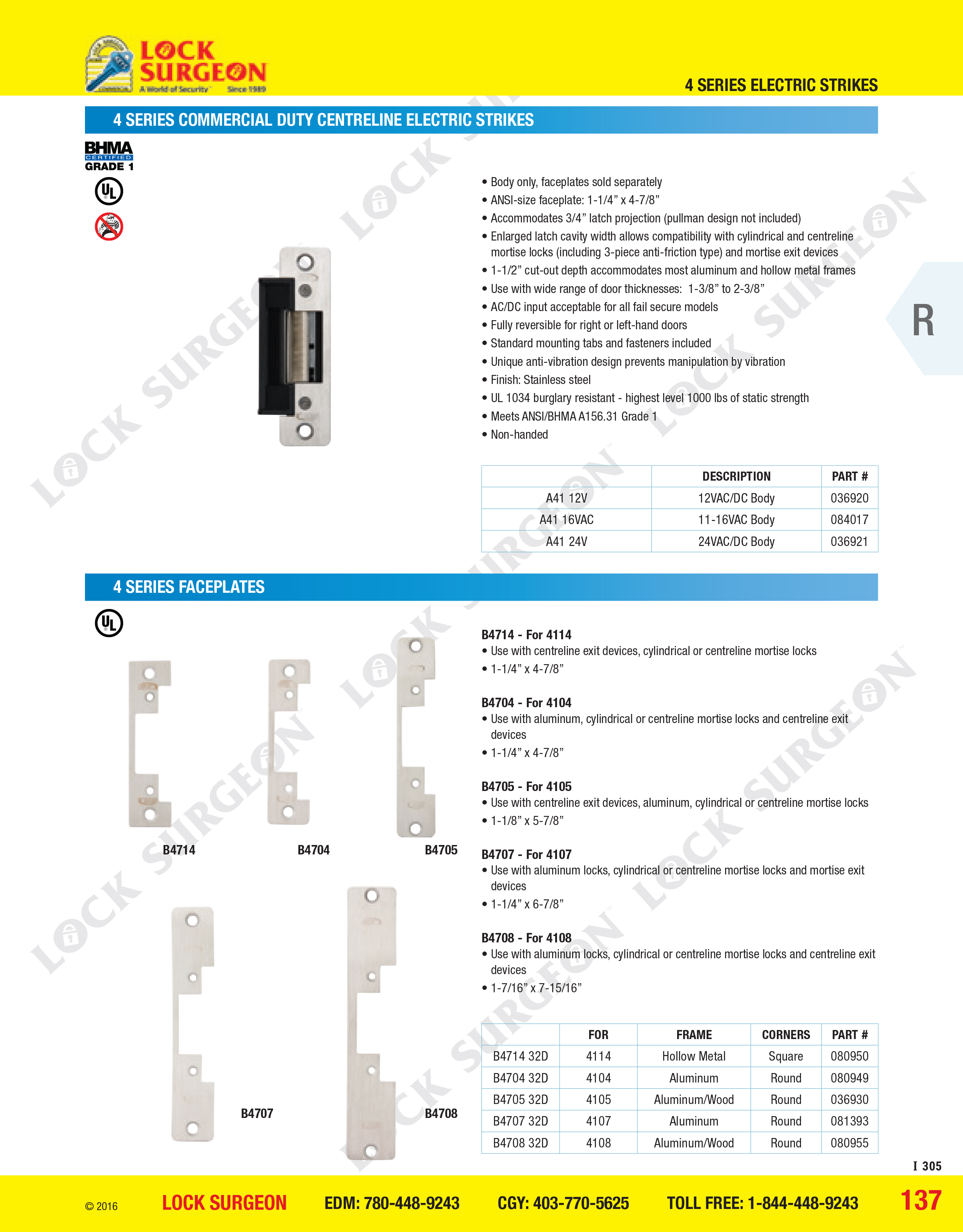 Brushed Stainless Steel Finish Detex Advantex Narrow Stile Rim Exit Device with Hex Dogging and Surface Strike for 36 Wide and 84 High Door
